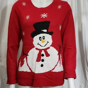 Fun Snowman Christmas Sweater ⛄